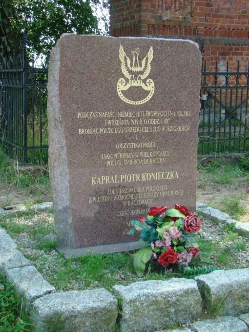 Upamiętnienie Piotra Konieczki