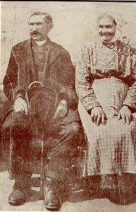 Michał Drzymała z żoną