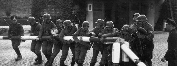Przekraczanie granicy przez oddziały niemieckie