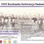 XXII Buczkowska Konferencja Naukowa